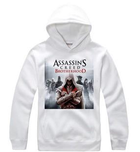 Assassin's Creed Brotherhood Desmond hoodie with some figure hình ảnh