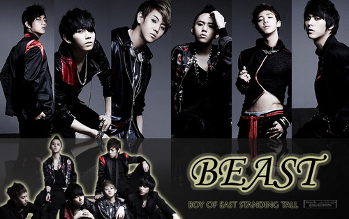Celebrity Contests wallpaper probably with a well dressed person, a hip boot, and an outerwear called B2ST