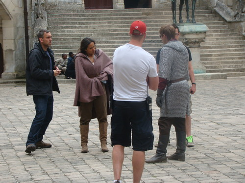 BTS: Tunic Known Anywhere, the Cape and of course Always the Chainmail Strut (3)