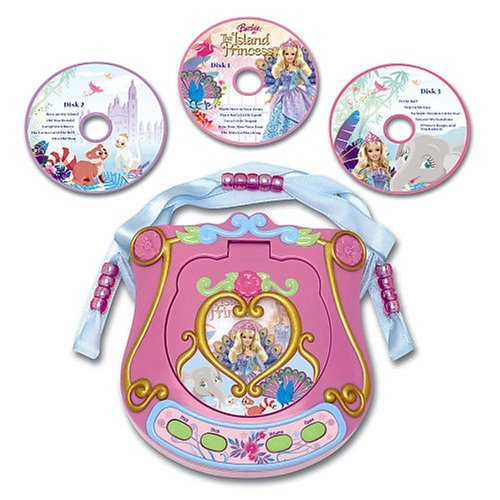 바비 인형 as the Island Princess - CD player (toy)