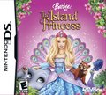 búp bê barbie as the Island Princess - DS game cover