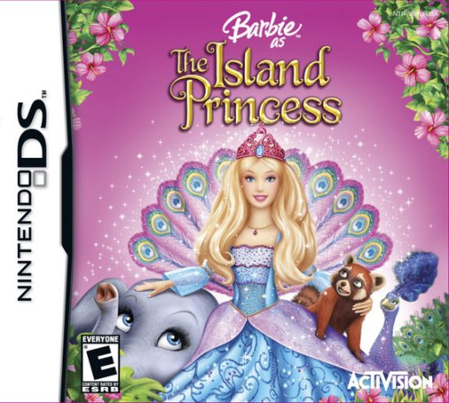 Barbie as the Island Princess - DS game cover