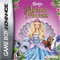 বার্বি as the Island Princess - GBA game cover