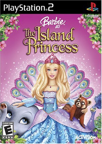 বার্বি as the Island Princess - PS2 game cover