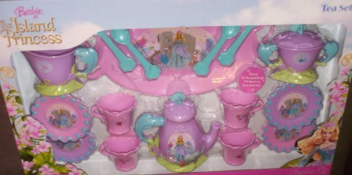 barbie as the Island Princess - té set