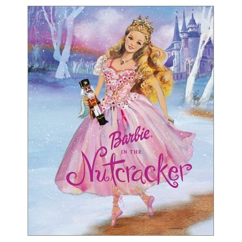 Barbie in the Nutcracker achtergrond containing a japon, jurk called Barbie in the Nutcracker book cover