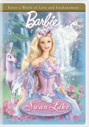 """búp bê barbie of thiên nga Lake """"newer"""" DVD cover"""