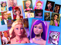 barbie the Princess and the Popstar big family