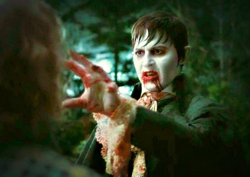 Tim Burton's Dark Shadows wallpaper probably with a sign and a portrait called Barnabas ♥
