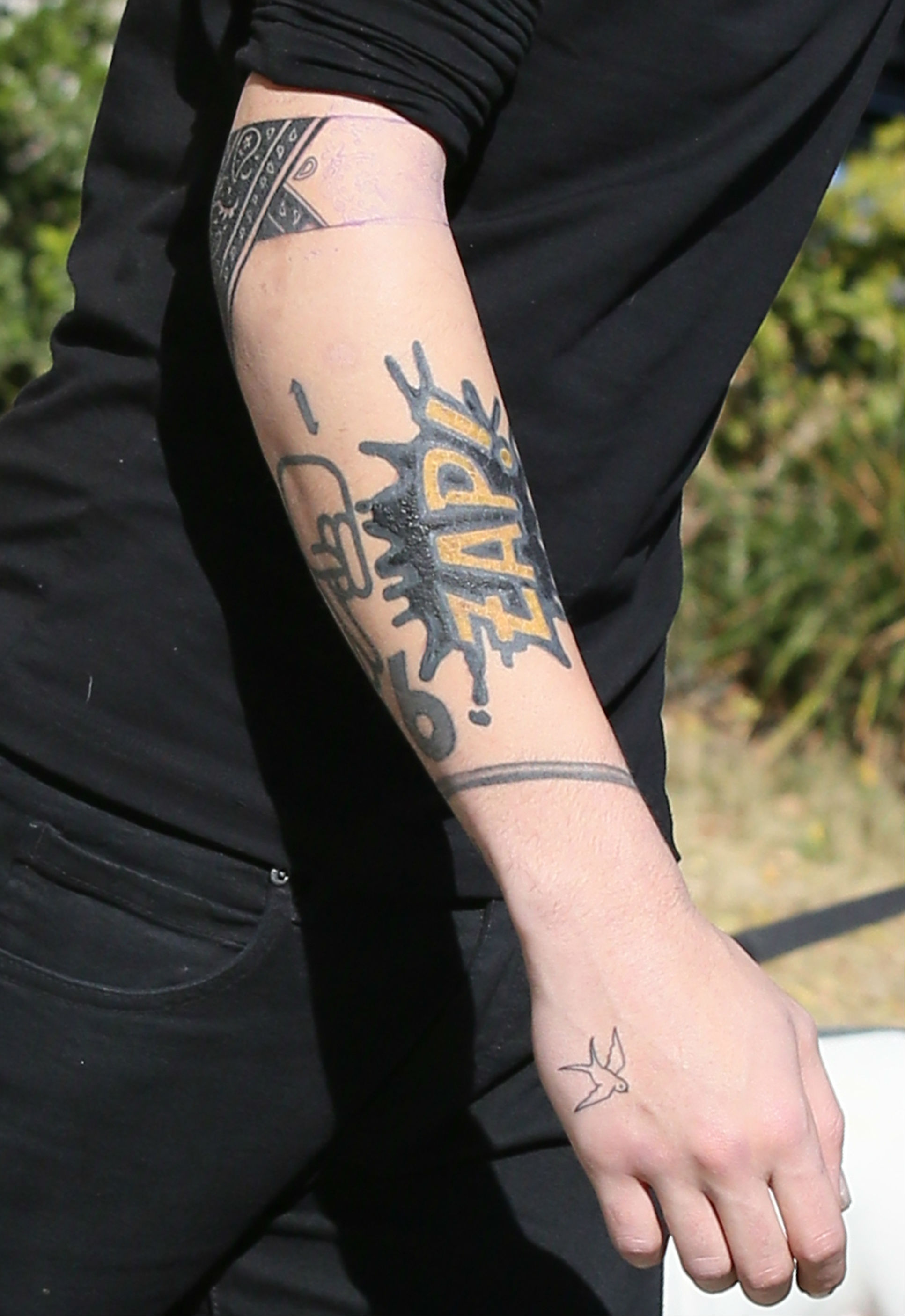 Zayn malik tattoos sleeve
