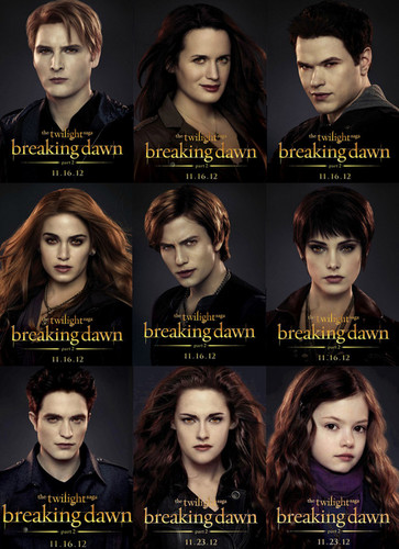 Breaking Dawn Part 2 Posters
