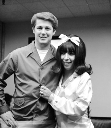 Brian and Marilyn Wilson