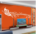 Butterfly Dancing with Music Wall Stickers - home-decorating photo