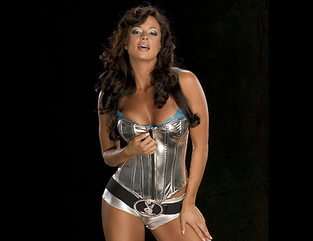 Candice Michelle Hintergrund entitled Candice Michelle Photoshoot Flashback