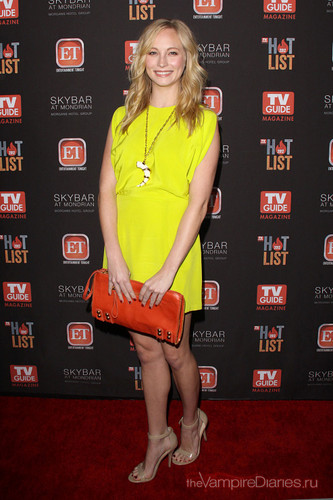 Candice attends TV Guide Magazine's Hot List Party - Arrivals {12/11/12}.
