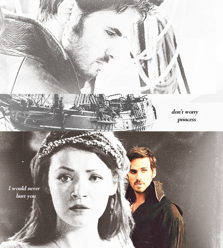 Once upon a time hook and aurora