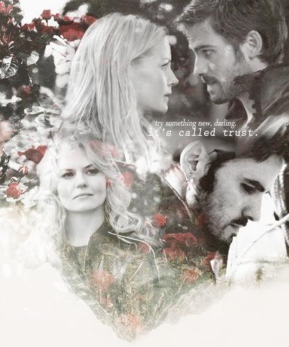 Captain Hook & Emma schwan