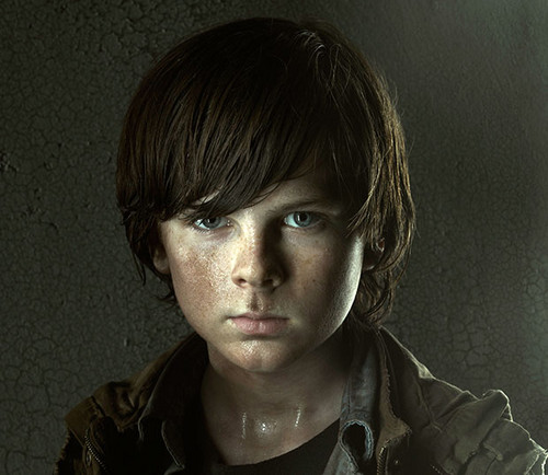 Carl - the-walking-dead Photo