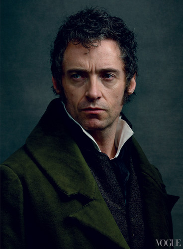 Cast of Les Miserables in Vogue magazine 2012