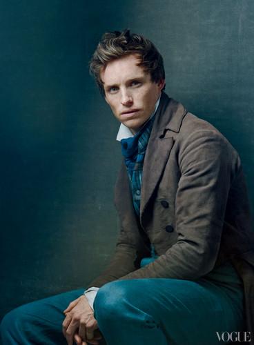 Cast of Les Miserables in Vogue magazine 2012