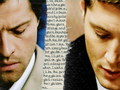 Castiel & Dean - supernatural wallpaper