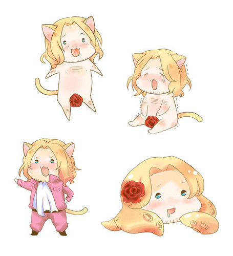 Hetalia wallpaper titled Cat!France