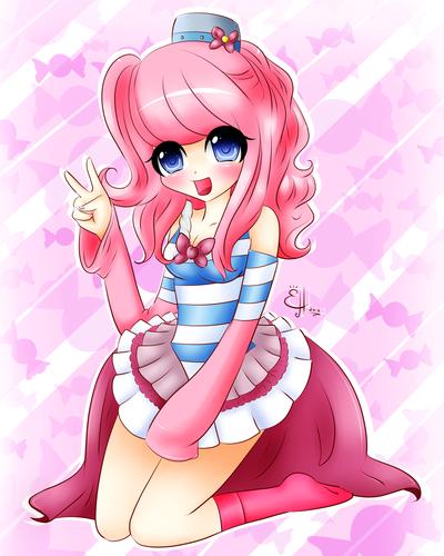 chibi Gijinka Pinkie Pie