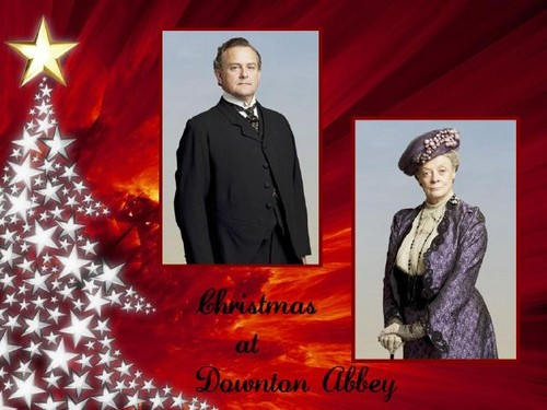 क्रिस्मस At Downton Abbey