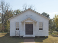 Church where Elvis Presley sang as a boy, Tupelo, MS.