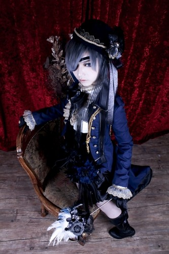 Ciel Phantomhive wolpeyper entitled Ciel Cosplay