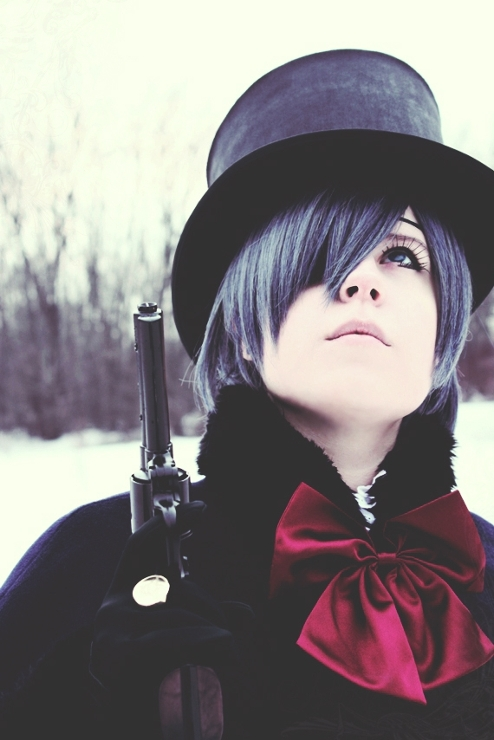 ciel phantomhive cosplay -#main