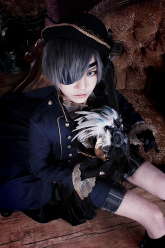 Ciel Phantomhive wolpeyper called Ciel Cosplay