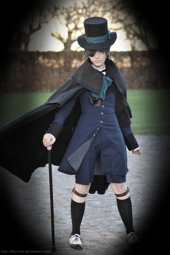 Ciel Phantomhive wallpaper called Ciel Cosplay