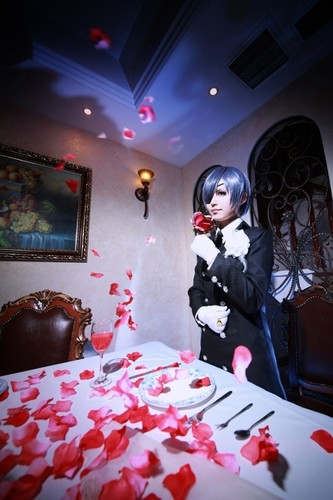 Ciel Phantomhive fond d'écran called Ciel Cosplay