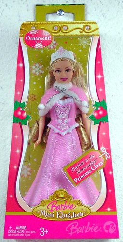 Clara Christmas Ornament doll in the box
