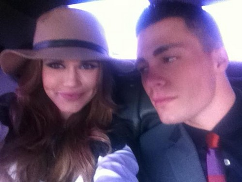 Colton Haynes and Holland Roden