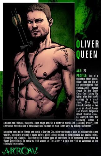 Comic version of Oliver
