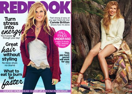 Connie Britton Covers REDBOOK November 2012