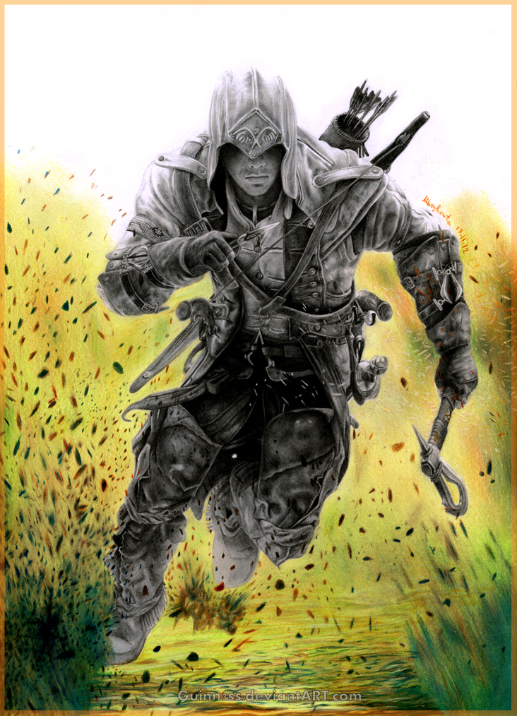 Connor Kenway Assassin S Creed Fan Art 32790346 Fanpop