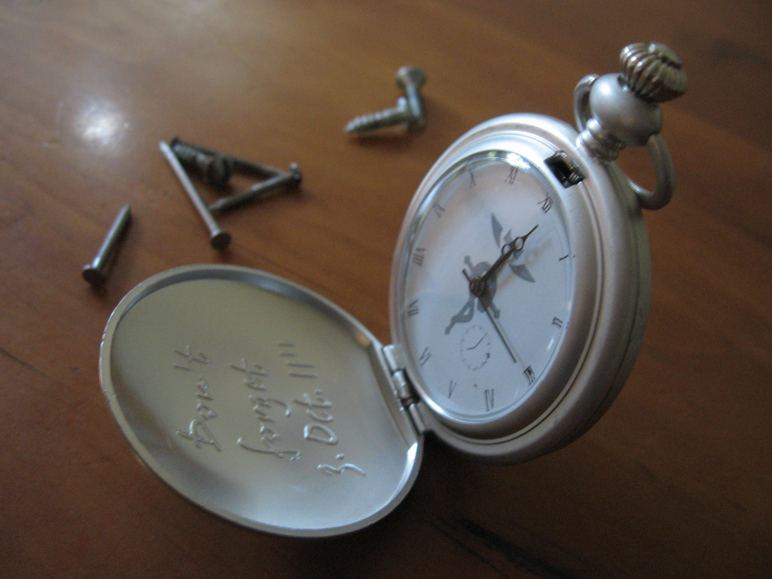 Cosplay pocket watch