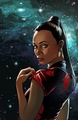 Countdown to Darkness #2 - Cover art - zoe-saldana-as-uhura photo