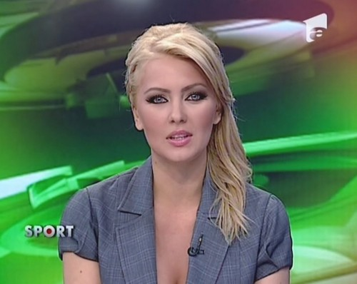 Cristina Dochianu romanian women newsTV people romanians