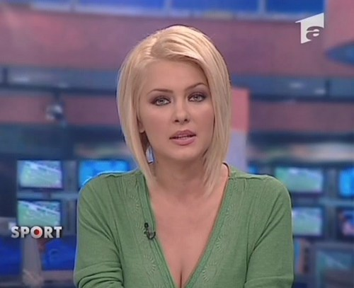 Cristina Dochianu romanian news women TV people