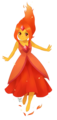 Cute Flame Princess