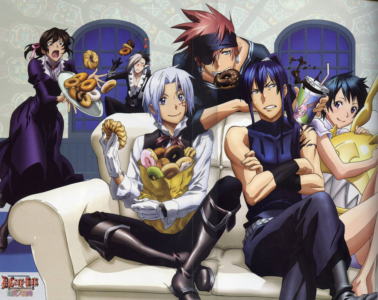 D Gray Man Anime Characters : Awesome anime club images d gray man hd wallpaper and