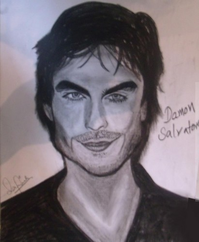 Damon Salvatore Sketch