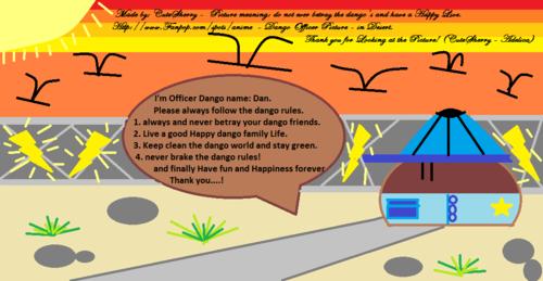 Dango Officer - Clannad - प्रशंसक art
