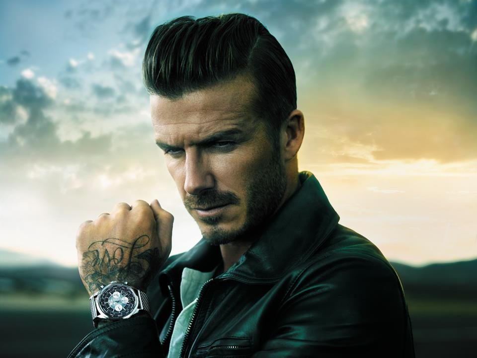David Beckham Breitling Watch