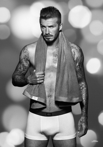 David Beckham: H&M Underwear - Krismas collection - 2012