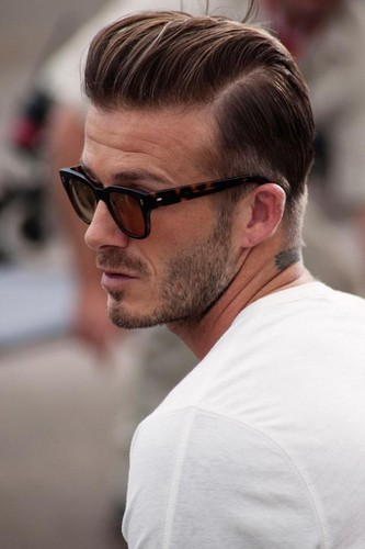 David Beckham wallpaper entitled David Beckham Hairstyle 2012